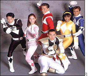 The original power rangers